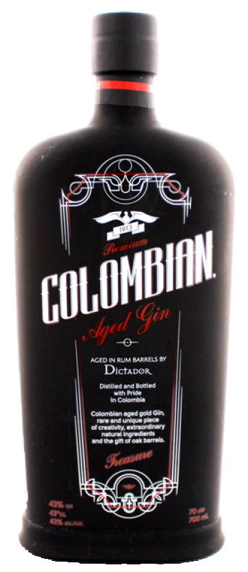 Fles Colombian Black Treasure