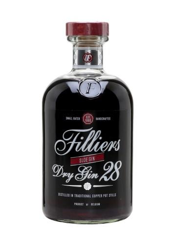 Fles Filliers Dry28 Sloe Gin